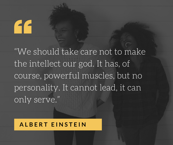 EQ Einstein Quote